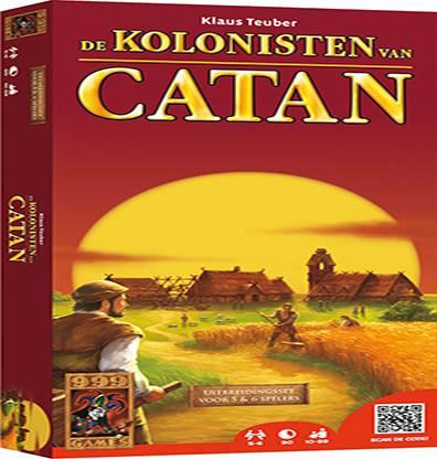 Afbeelding van het bordspel de Kolonisten van Catan: Uitbreiding 5-6 spelers