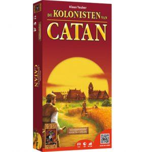 Uitbreidingsset voor 5 & 6 spelers voor het bordspel De Kolonisten van Catan