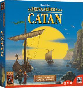 Afbeelding van het bordspel Kolonisten van Catan Zeevaarders uitbreiding