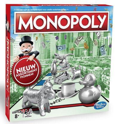 Productfoto van het Monopoly Classic bordspel
