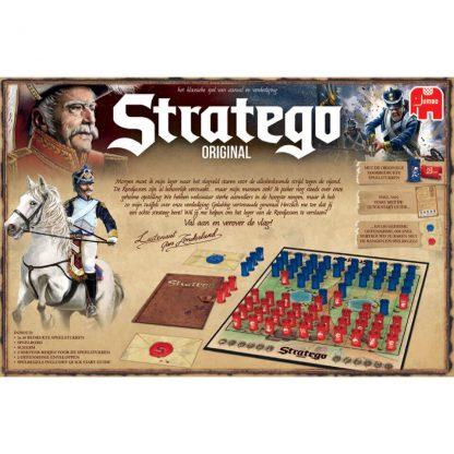Achterkant Doos Stratego Original 2017