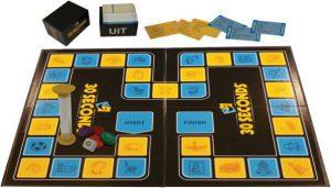 Afbeelding van het speelbord van de basisversie van het 30 seconds bordspel