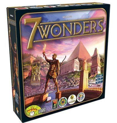 Afbeelding van doos van het bordspel 7 Wonders basiseditie