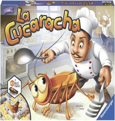 Afbeelding van het bordspel La Cucaracha