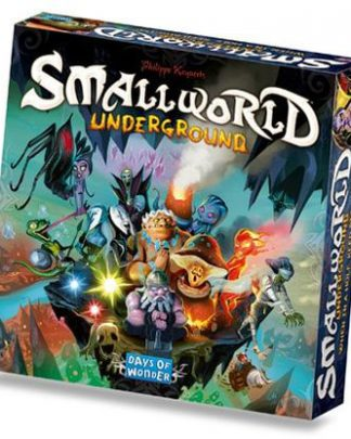 Afbeelding van de Engelse versie van het bordspel Small world Underground uitbreiding