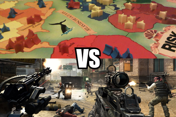 Blogafbeelding van Risk versus Call of Duty