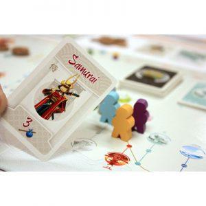 Afbeelding van een spelimpressie van het Tokaido bordspel
