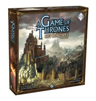 Afbeelding van doos van het Game of Thrones bordspel