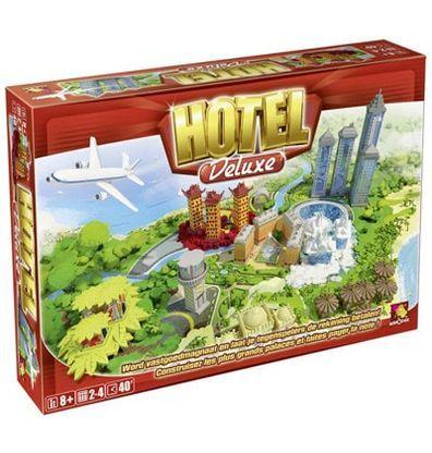 Afbeelding van de doos van het Hotel Deluxe bordspel