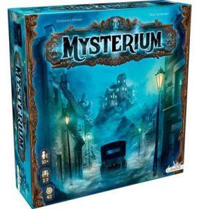 Afbeelding van de doos van Mysterium bordspel