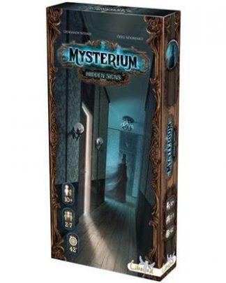 Afbeelding van de doos van het bordspel Mysterium Hidden Signs