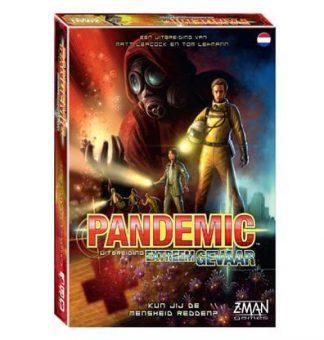 Afbeelding van de doos van het Pandemic Extreem Gevaar bordspel