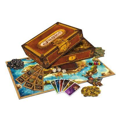 Productfoto van het speelbord van het Jamaica bordspel