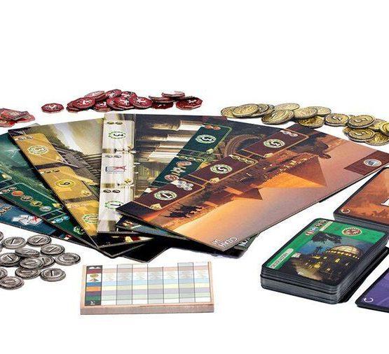 Afbeelding van Speelbord en toebehoren 7 Wonders