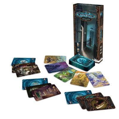 Afbeelding van de speelkaarten Mysterium Hidden Signs bordspel