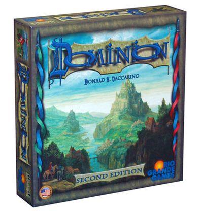 Afbeelding van de Engelse versie van het Dominion 2nd Edition bordspel