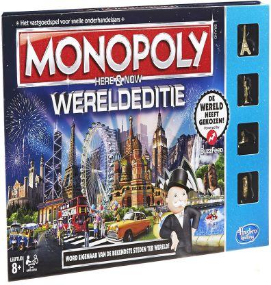 Productfoto van het Monopoly Wereldeditie bordspel