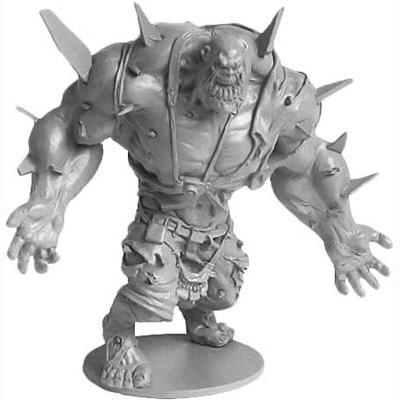 AFbeelding van de abomination Pion van het bordspel Zombicide basiseditie