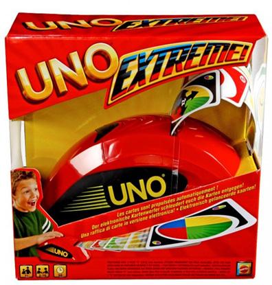 Productfoto van het Uno Extreme kaartspel