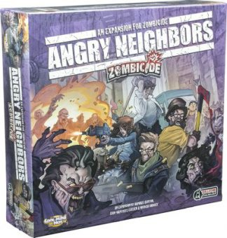 Productfoto van het Zombicide Angry Neighbors bordspel