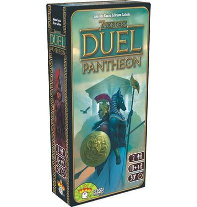 Productfoto van de Nederlandse versie van het bordspel 7 Wonders Duel Pantheon