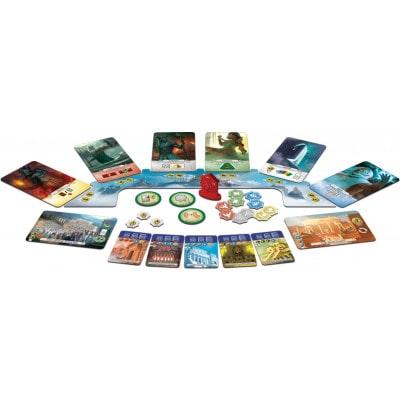 Afbeelding van de 7 Wonders Duel Pantheon Speelkaarten