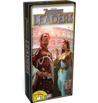Productfoto van de Nederlandse versie van het bordspel 7 Wonders Leaders