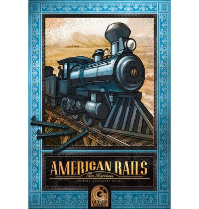 Productfoto van de Nederlandse versie van het bordspel American Rails