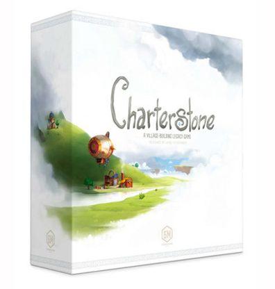 Productfoto van de Engelse versie van het bordspel Charterstone