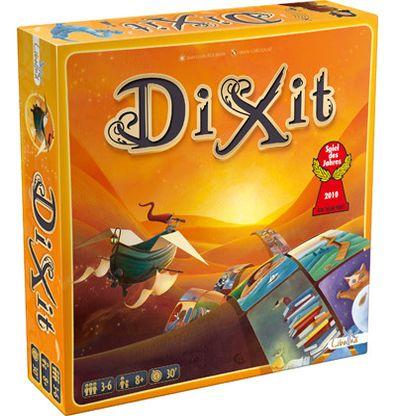 Productfoto van de Nederlandse versie van het bordspel Dixit