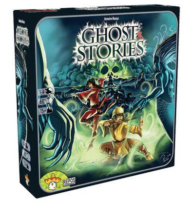 Productfoto van de Nederlandse versie van het bordspel Ghost Stories