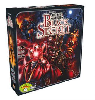 Productfoto van de Nederlandse versie van het bordspel Ghost Stories Black Secret Uitbreiding