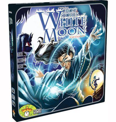 Productfoto van de Nederlandse versie van het bordspel Ghost Stories White Moon Uitbreiding