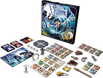 Geverfde pionnen van de Nederlandse versie van het bordspel Ghost Stories White Moon Uitbreiding