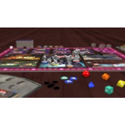 Afbeelding van de spelonderdelen van het bordspel Halloween