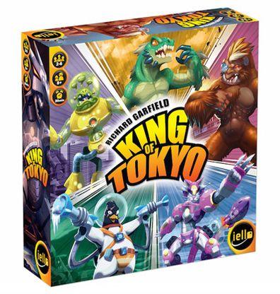 Productfoto van het Nederlandse bordspel King of Tokyo 2016 editie