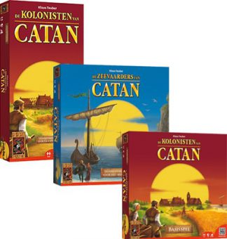 Productfoto van Kolonisten van Catan Bordspellen Combinatie Bundel