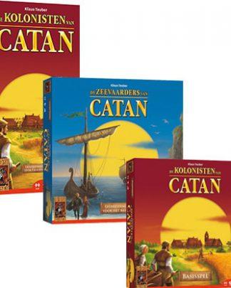Productfoto van Kolonisten van Catan Bordspellen Combinatie Bundel