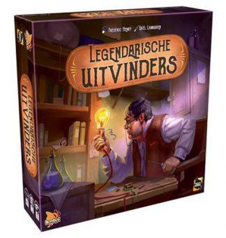 Productfoto van de Nederlandse versie van het bordspel Legendarische Uitvinders