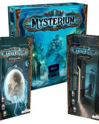 Productfoto van het Mysterium 3 in 1 bordspel voordeelbundel