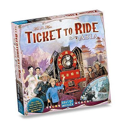Productfoto van de Nederlandse versie van het bordspel Ticket to Ride Asia