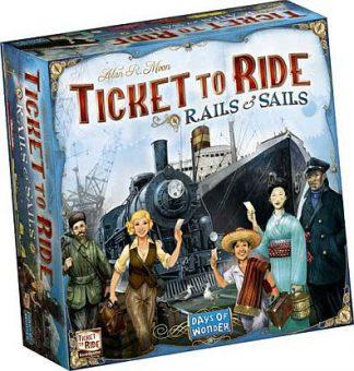 Productfoto van de Nederlandse versie van het bordspel Ticket to Ride Rails & Sails