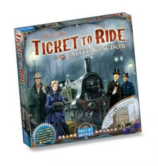 Productfoto van de Nederlandse versie van het bordspel Ticket to Ride United Kingdom + Pennsylvania