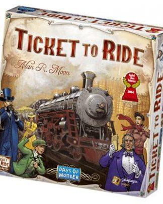 Productfoto van de Nederlandse versie van het bordspel Ticket to Ride USA
