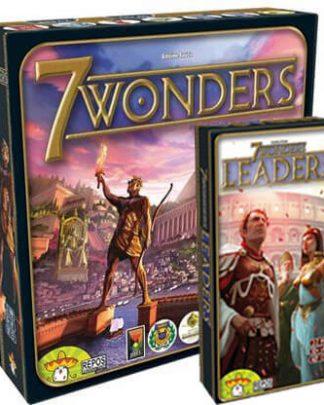 Productfoto van de 7 Wonders 3 in 1 bordspel combinatie bundel
