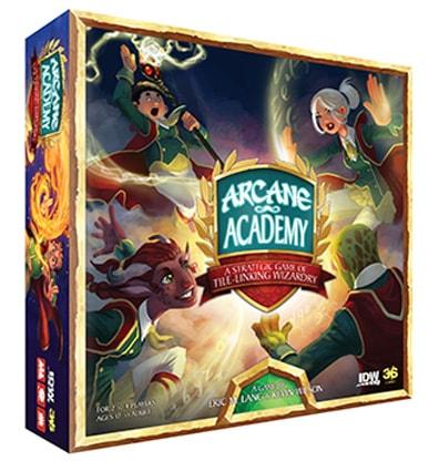 Productfoto van de speldoos van Arcane Academy