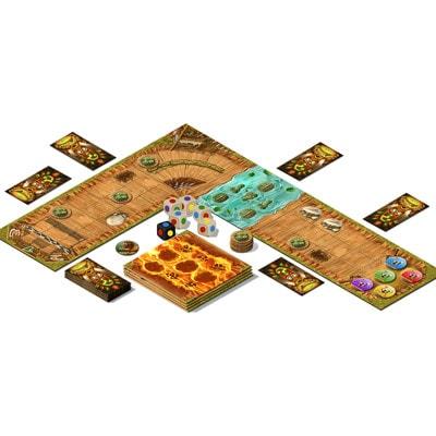 Afbeelding van het speelbord van Banjooli Cross