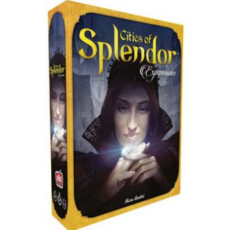 Prodcutfoto van de speeldoos van Cities of Splendor