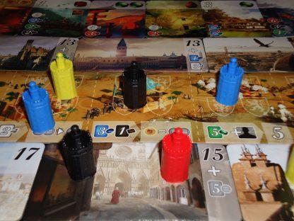 Afbeelding van een spelimpressie van Cities of Splendor