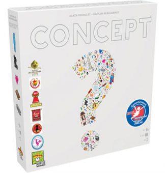 Productfoto van de speldoos van het bordspel Concept